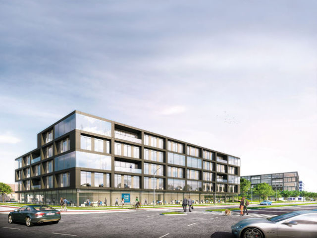 Profile Euroservice has rented 705 m² office space in The Link Antwerp